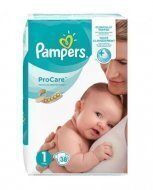 Pampers ProCare 1 pieluchy 38 sztuk