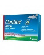Claritine Allergy 7 tabletek