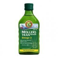 MOLLERS Tran Norweski smak naturalny 250 ml (data 30.11.2018)